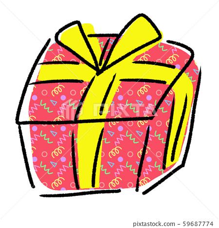 禮物包裝禮物 59687774
