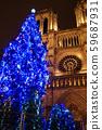 Paris Notre Dame Christmas tree (before fire) 59687931