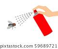消滅蒼蠅的殺蟲劑 59689721