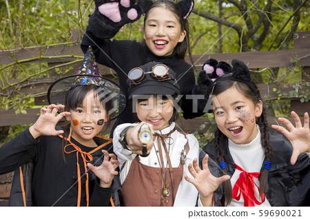 萬聖節圖像小學生 59690021