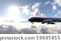 飛機在飛行中 59695855