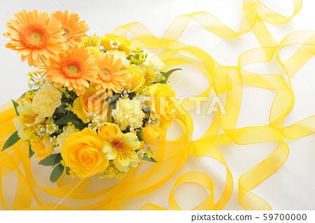 黃色花束絲帶 59700000
