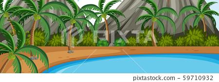 A nature panorama landscape 59710932