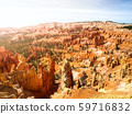 Colorful rock formations in Bryce Canyou, Utah, USA. 59716832