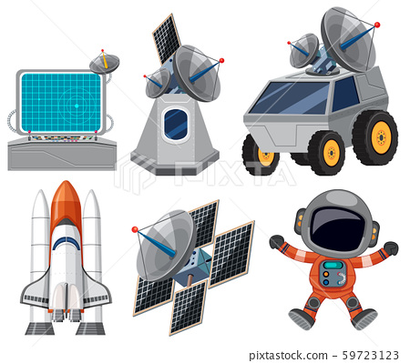 Set of space element 59723123