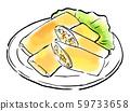 Chinese cuisine food illustration 59733658