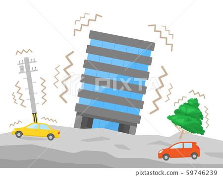 地震的插圖 59746239