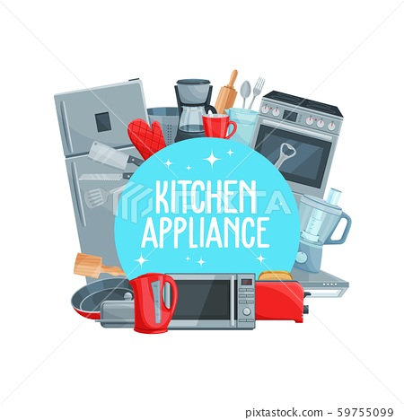 Kitchen appliance, cutlery and cooking items 59755099