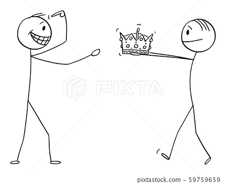Vector Cartoon Illustration Of Man Giving Crown Stock Illustration 59759659 Pixta Check categories of outdoor, commercial crown cartooning at alibaba.com at affordable prices. pixta
