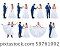 wedding groom and bride set 59761002