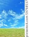 상쾌한 푸른 하늘의 고원 59768537