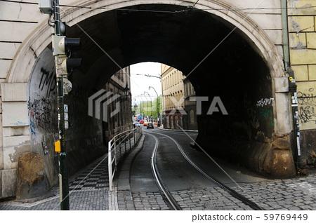 Views of the historical center of the Czech Republic Prague 59769449