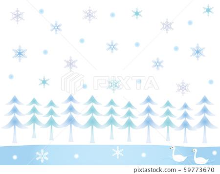 冬季森林18 59773670