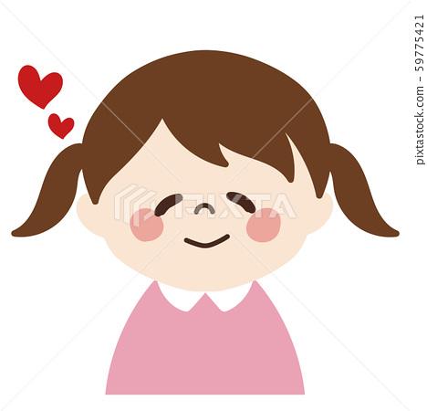 어린 소녀 ① (부드러운 느낌의 얼굴) 59775421