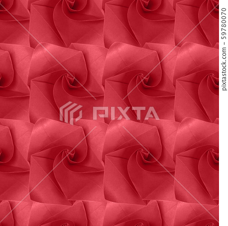 pattern geometric with a background of paper flowers handmade craft creative abstraction 59780070