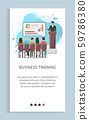 Business Training, People Discussion Report Vector 59786380