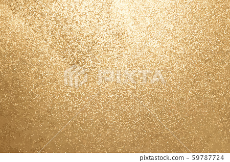 Gold color of glitter textured background (Vector) 59787724