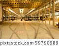Trams depot, public transport infrastructure 59790989