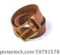 Leather belt isolated 59791578