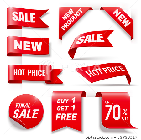 Business sale badge collection 59798317
