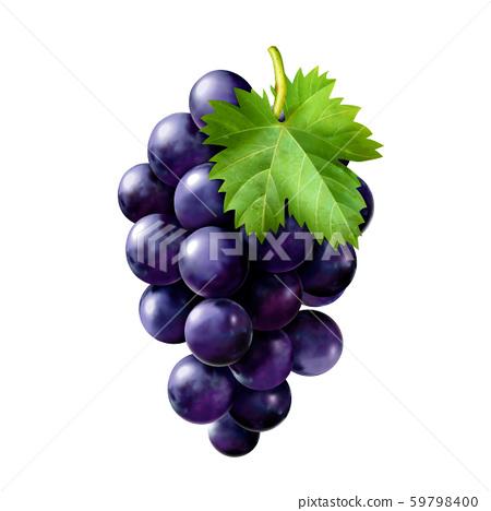 Delicious ripe grapes 59798400