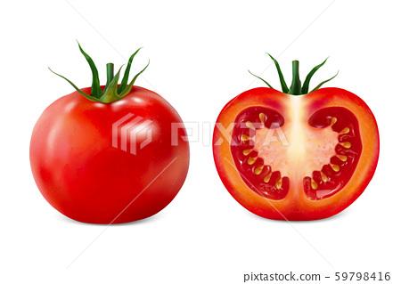 Delicious tomato illustration 59798416
