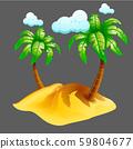 isolated island 59804677