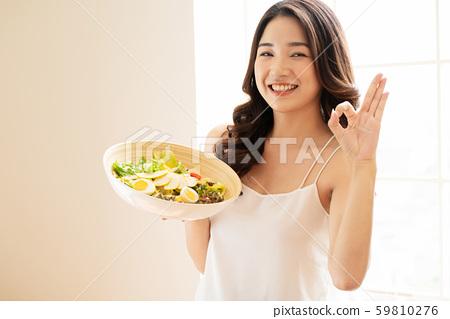 女性生活方式餐 59810276
