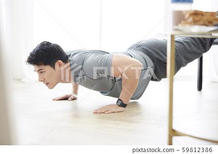 男性生活方式訓練 59812386