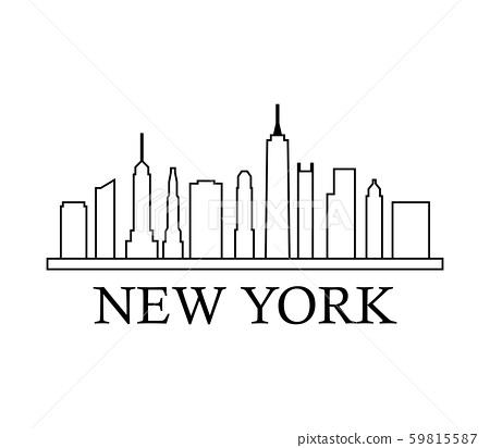 new york skyline 59815587