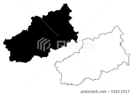 Tver Oblast map vector.... 59821057