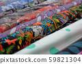 Multicolored fabrics in rolls 59821304