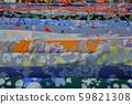 Multicolored fabrics in rolls 59821308