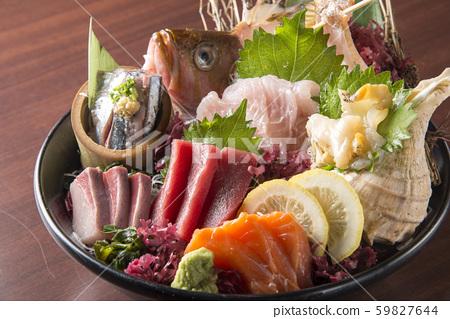 美味的鱼生鱼片 59827644