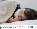 감기의 어린이 59831812