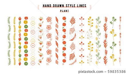 套裝飾裝飾植物(垂直) 59835386