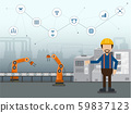 Automation industry concept 59837123