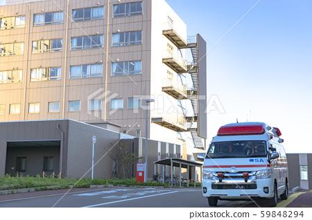 醫院和救護車 59848294