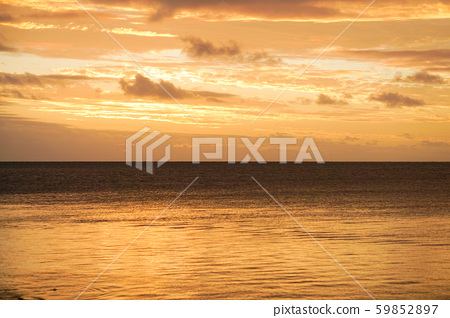 Sunset at Anse Vata Beach, New Caledonia 59852897