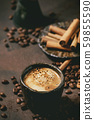 Black coffee with spices 59855590