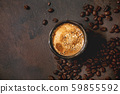 Black coffee with spices 59855592