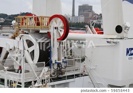 橫濱港電纜敷設船 59858443