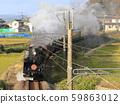 Uetsu Main Line SL วิ่งไปตามแม่น้ำ Yodo 59863012