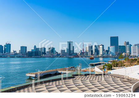 晴海碼頭和2020年東京奧林匹克殘奧村 59863234