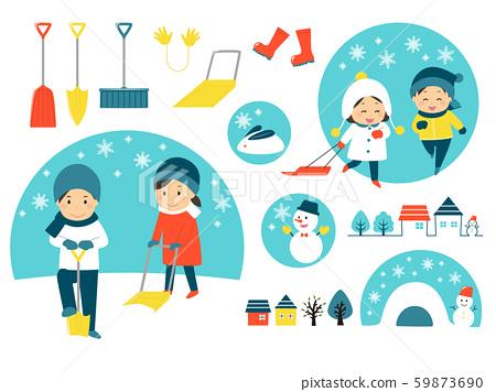 下雪天 59873690