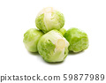 brussels sprouts isolated 59877989