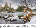 Kanazawa, Ishikawa, Japan winter 59878756
