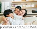 ครอบครัวผู้ปกครองและเด็กแม่ลูกแม่ 59881546