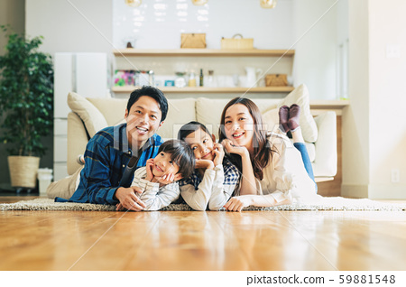 Family, parent and child, home 59881548