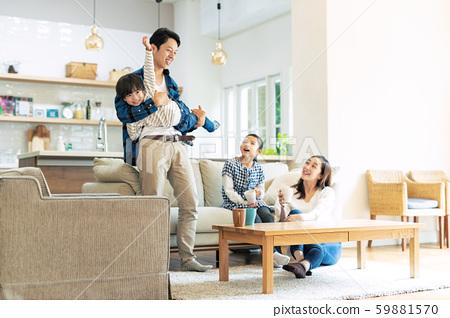 家庭父母子女家庭 59881570